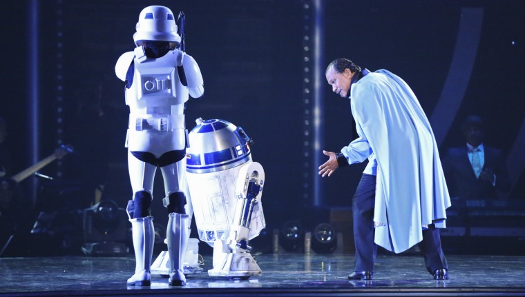 """Image: Billy Dee Williams on """"Dancing With the Stars"""""""