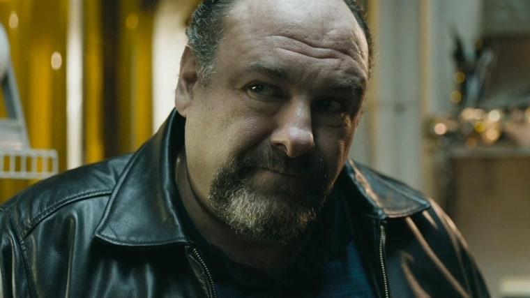 "James Gandolfini in ""The Drop."""