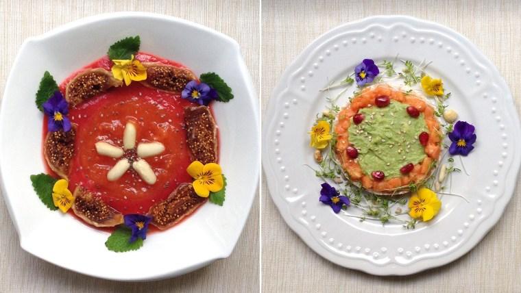Image: Ana Finta's breakfast art