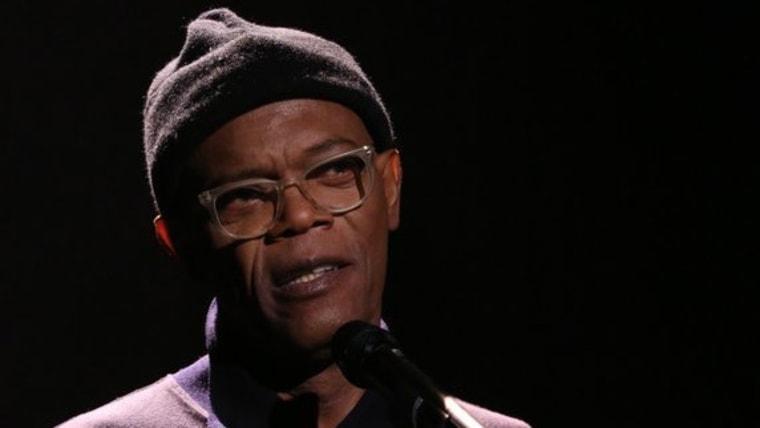 "Samuel L. Jackson on ""The Tonight Show Starring Jimmy Fallon."""