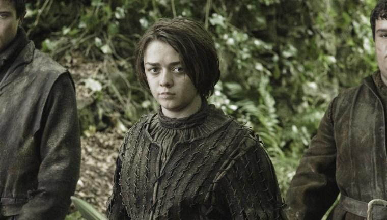Image: Maisie Williams as Arya Stark