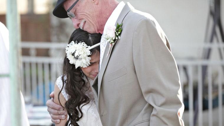 Jim Zetz and his daughter Josie.