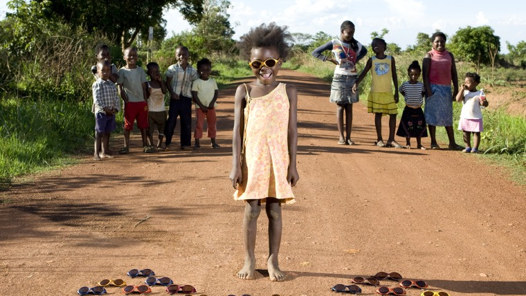 Maudy Sibanda, 3 -  Kalulushi, Zambia  Maudy was born in a hut in a small village close to Kalulushi, in Zambia. She grew up playing on the street tog...
