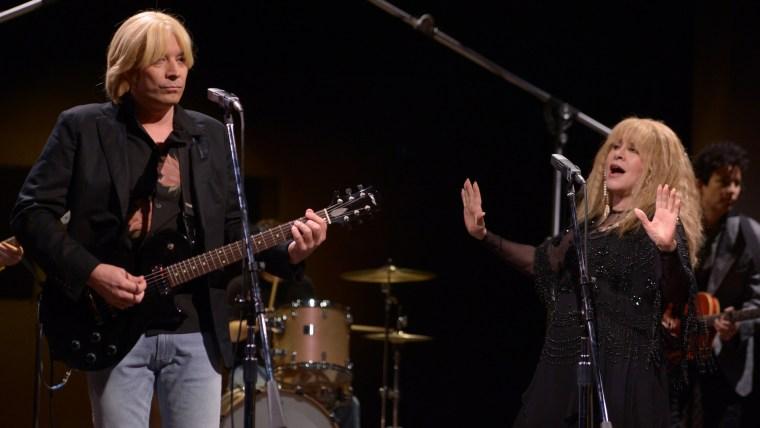 Image: Jimmy Fallon, Stevie Nicks