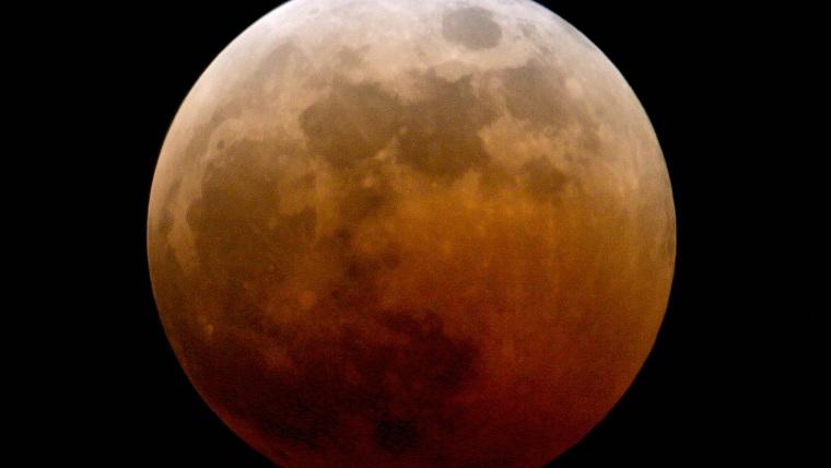 Image: A blood moon