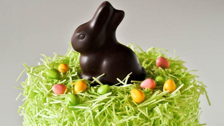 Easter-bunny cake