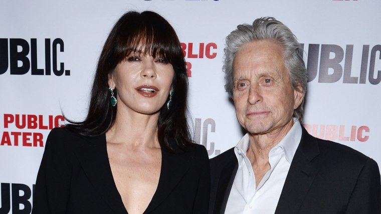 Michael Douglas and Catherine Zeta-Jones walk first red carpet together since split