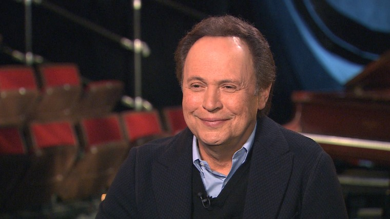 Image: Billy Crystal speaks with Matt Lauer on TODAY.