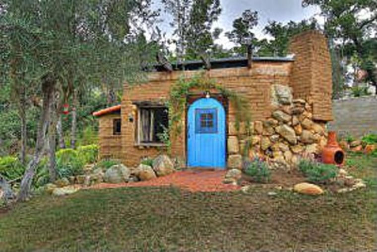 This 500-square-foot cottage is tucked into a private neighborhood of multimillion-dollar homes near Santa Barbara.
