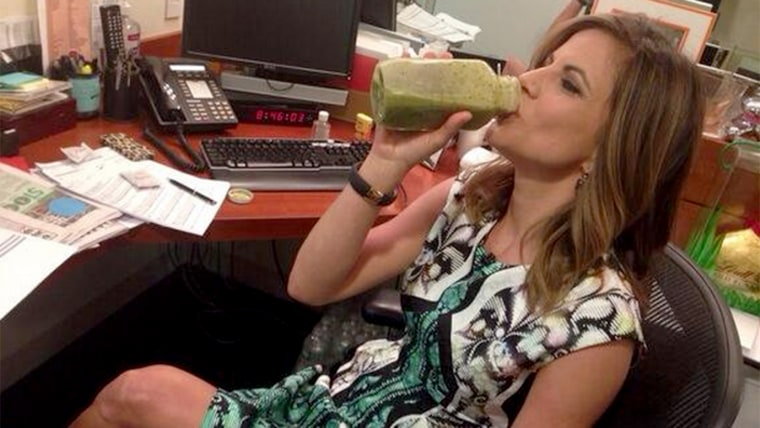 TODAY's Natalie Morales drinks some variation of this juice every morning before she goes on the air.