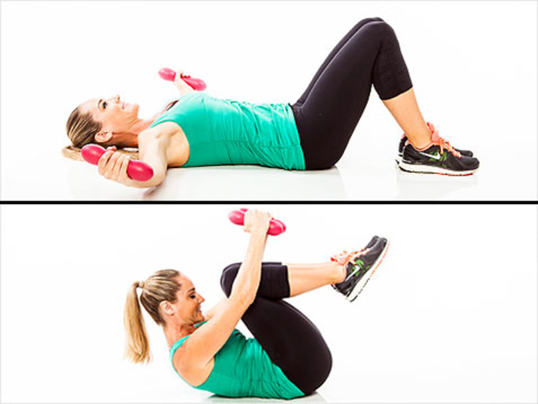 exercises for arms and shoulders, jessica smith, plank up, arm exercise, shoulder exercise, tricep exercise, ab exercise
