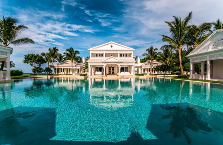 Celine Dion's oceanfront estate in Florida is now listed for $62.5 million.