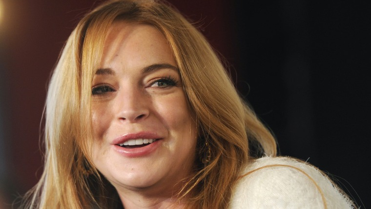 """Lindsay Lohan on Monday said she suffered a miscarriage during the taping of her OWN cable channel reality TV series, """"Lindsay,\"""" and that ayahuasca helped her to cope."""