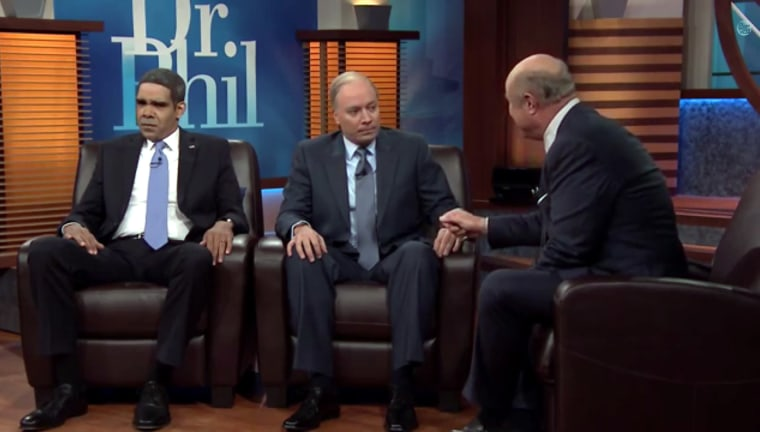 """Image: Dr. Phil on """"The Tonight Show."""""""