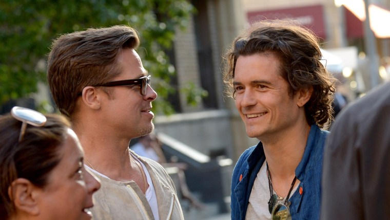 Image: Brad Pitt, Orlando Bloom