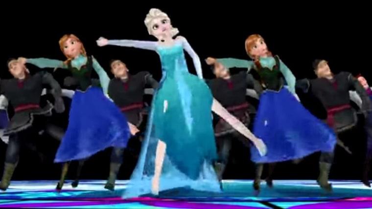 IMAGE: Frozen meets Thriller