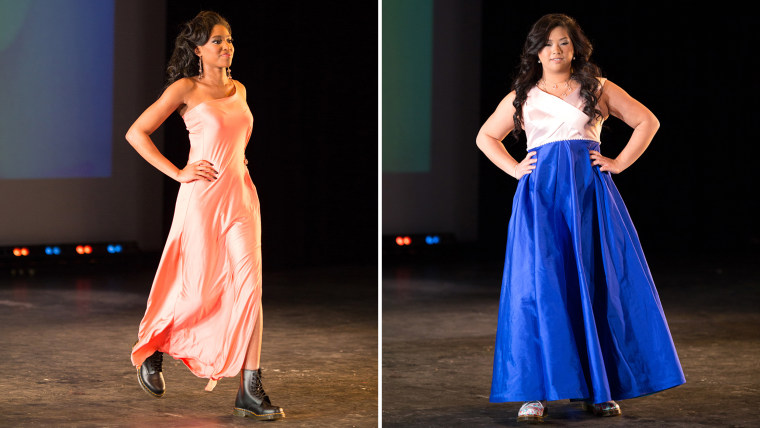 """High school juniors and seniors strut the runway at the \""""I Am Everything\"""" fashion show, which raised almost $4,000 for the Boys & Girls Clubs of the Twin Cities."""