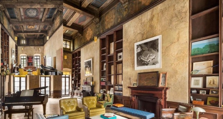 Mary-Kate Olsen's new home is tucked into Turtle Bay Gardens, a group of grand 1860s-era town homes that surround a central promenade and gardens in midtown Manhattan.