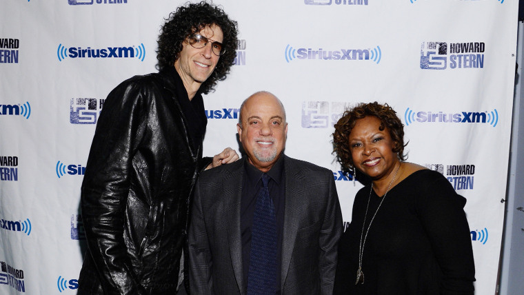 Howard Stern, Billy Joel and Robin Quivers