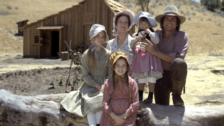 """Image: Cast of """"Little House on the Prairie."""""""