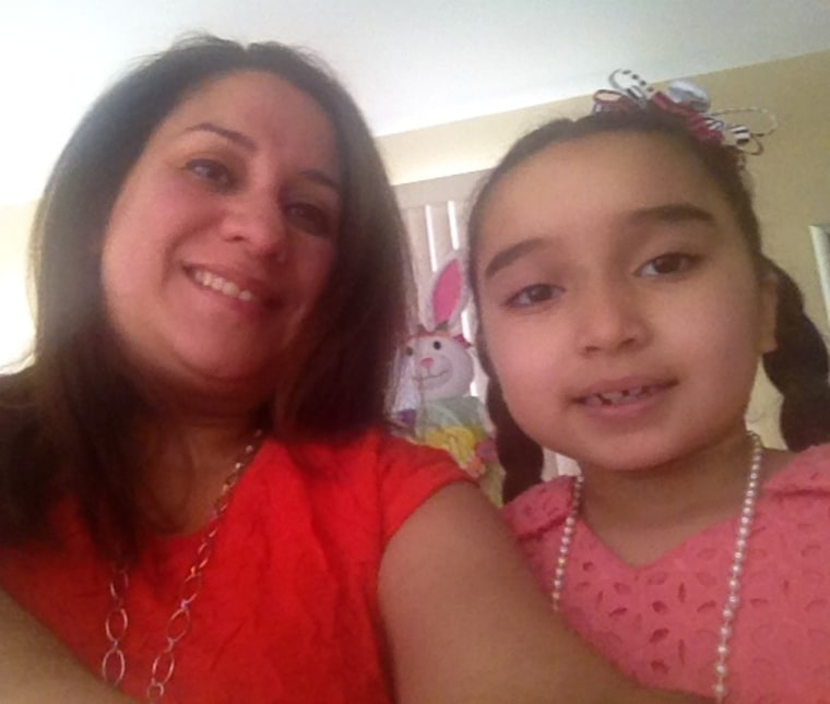 Ninette Solis and daughter