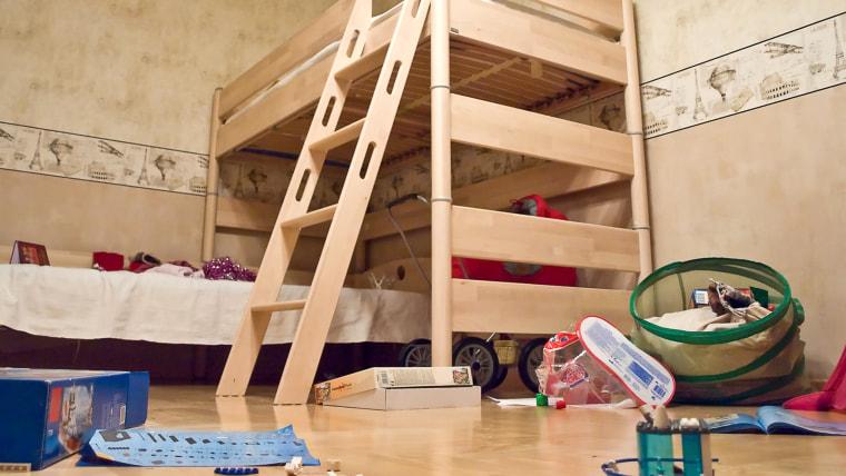 Nursery with toys
