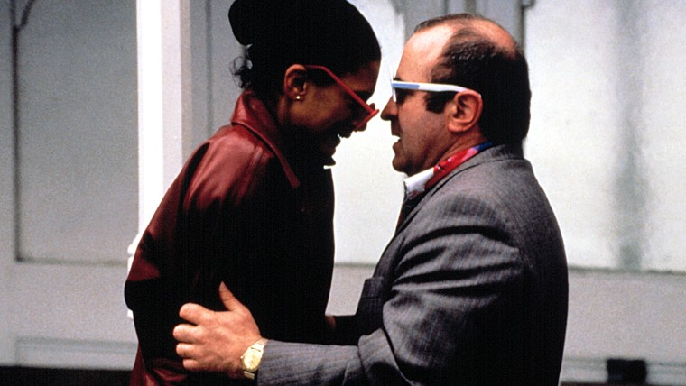 "Image: Cathy Tyson and Bob Hoskins in ""Mona Lisa."""