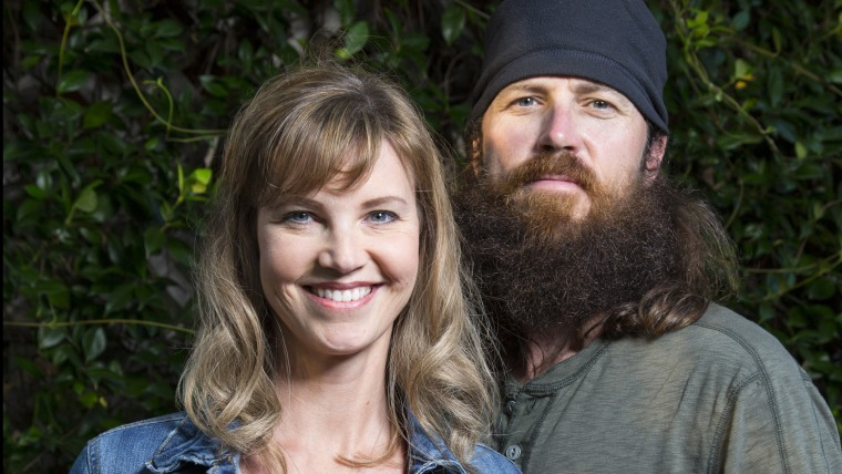 """Missy and Jase Robertson of """"Duck Dynasty"""""""