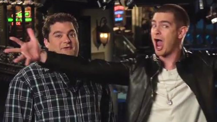 IMAGE: SNL promo with Andrew Garfield