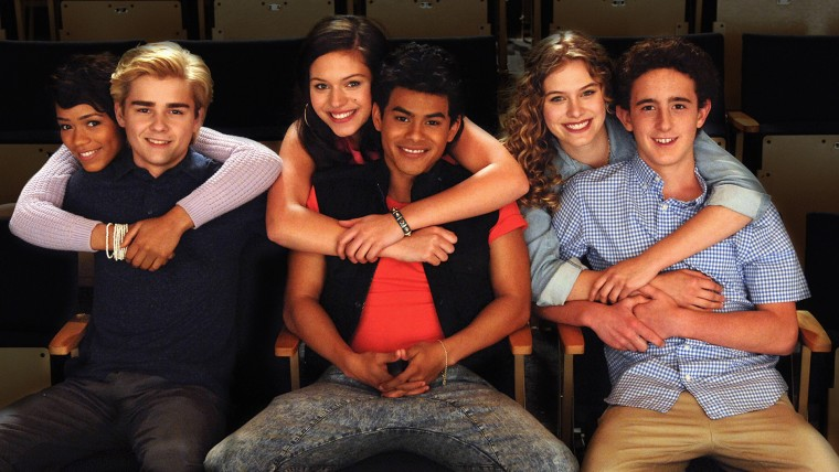 """Image: The cast of """"The Unauthorized Saved by the Bell Story"""""""