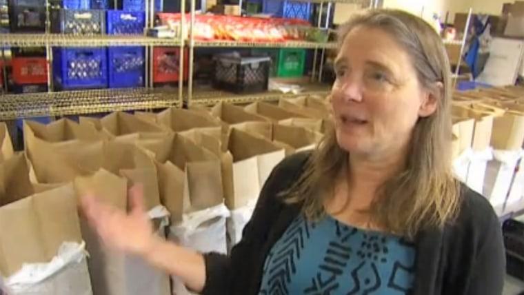 Food bank executive director Fran Yeatts talks about Robin Williams