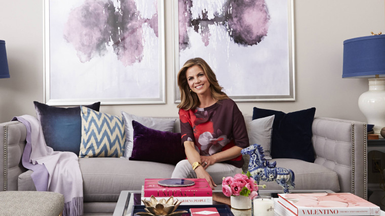 Home sweet home! Check out Natalie Morales' living room makeover