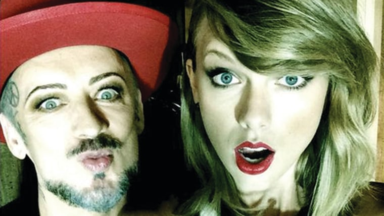Image: Boy George and Taylor Swift