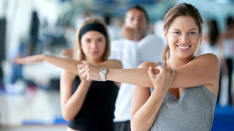 exercises, stretching, shoulder stretch, workout, cooling down, sore muscles