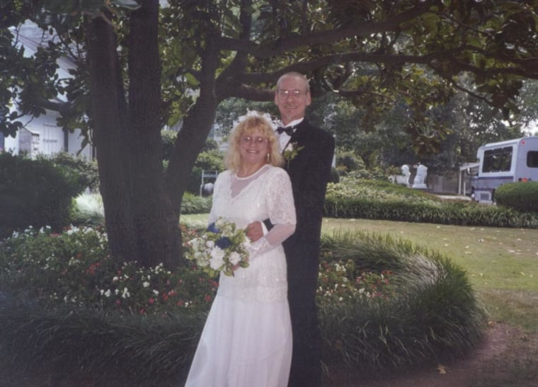 The Blairs' 45th wedding.