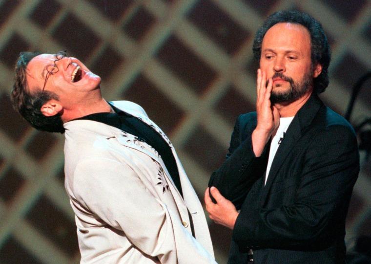 Image: Robin Williams, Billy Crystal