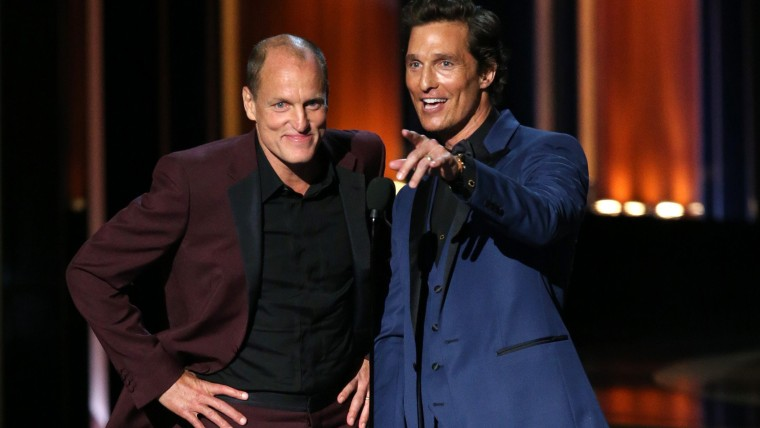 Image: Woody Harrelson and Matthew McConaughey