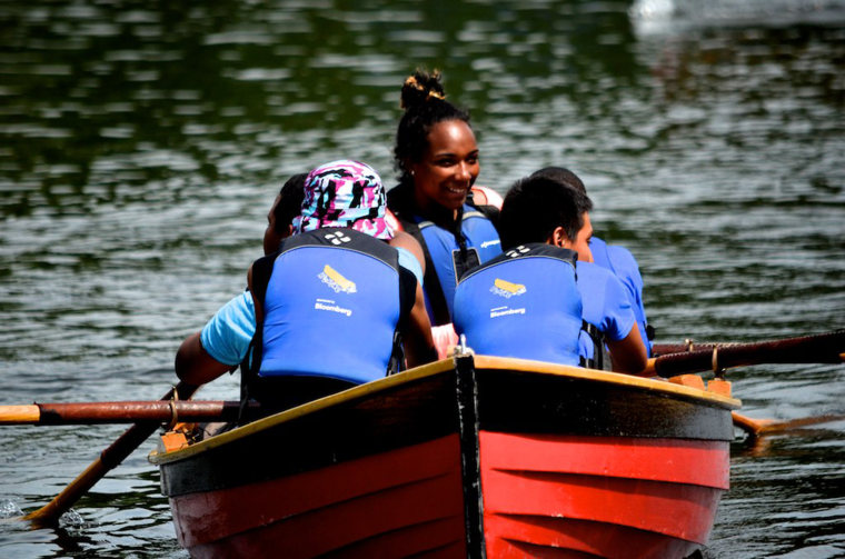 Since the creation of the program, students have helped build about 50 boats.