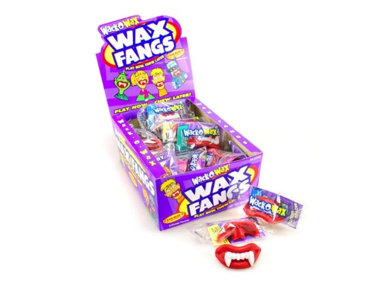 Wack-O-Wax wax lips