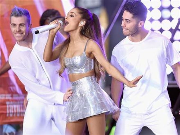 Ariana Grande reveals her most embarrassing moment on stage