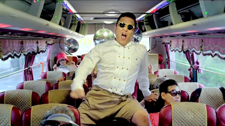 Psy's 'Gangnam Style' has smashed YouTube records.
