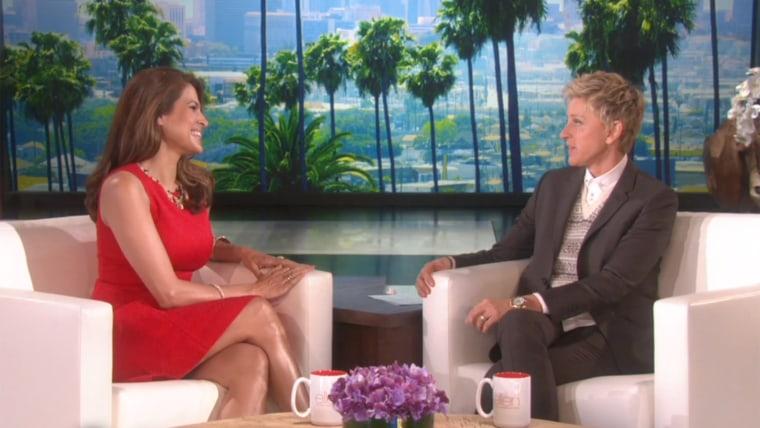 Image: Eva Mendes and Ellen DeGeneres