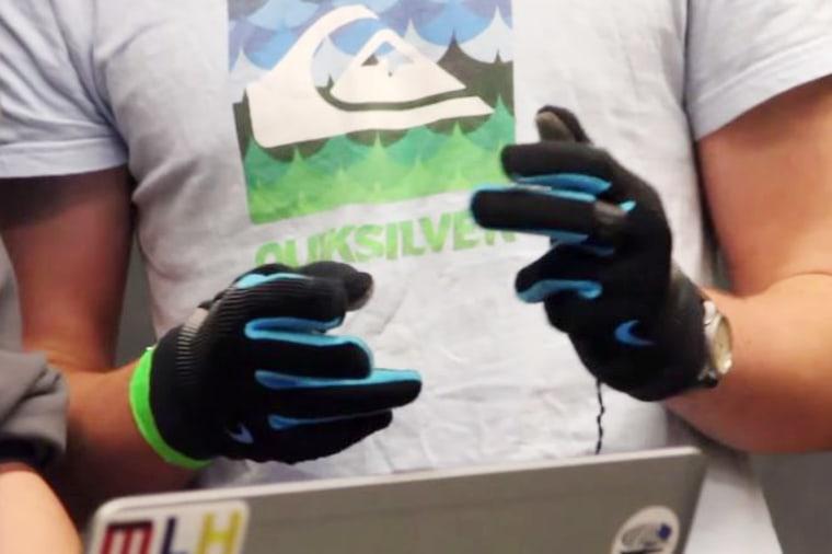Hashtag gloves