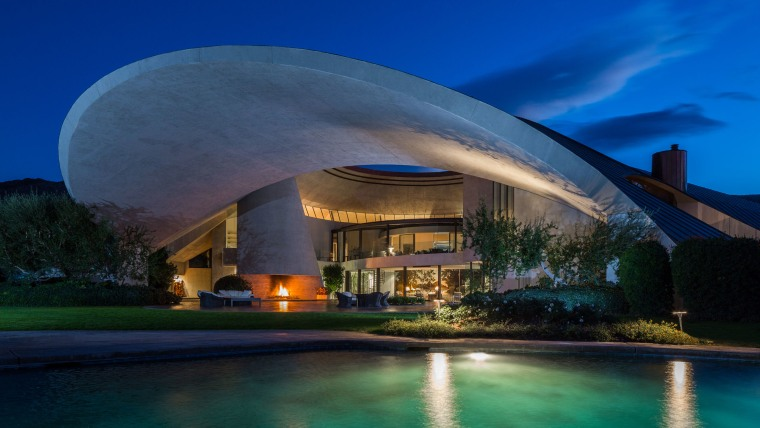 Bob Hope Residence Designed By John Lautner 2466 Southridge Dr Palm Springts