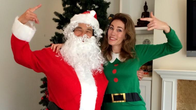 Deva Dalporto and Santa