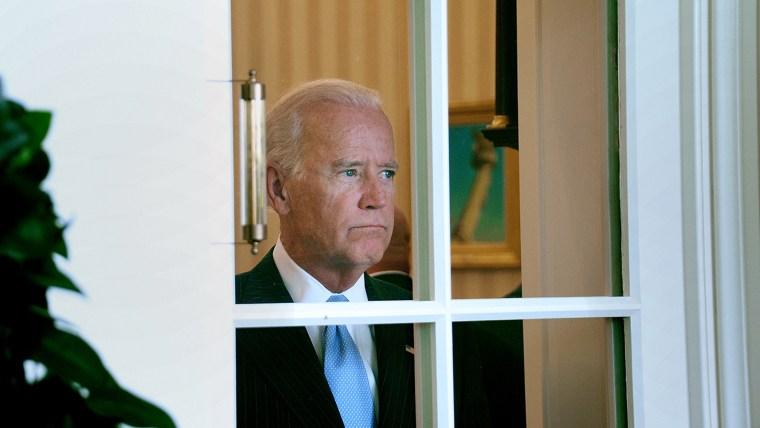 Photo Of Sad Joe Biden Staring Out A Window Sparks