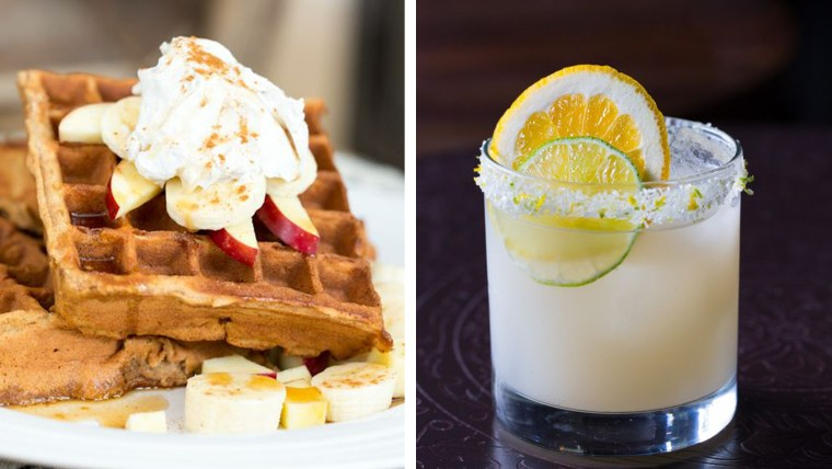 Paleo Waffles and Mexican Mai Tai from Civilized Caveman Cooking Creations; A Spicy Perspective