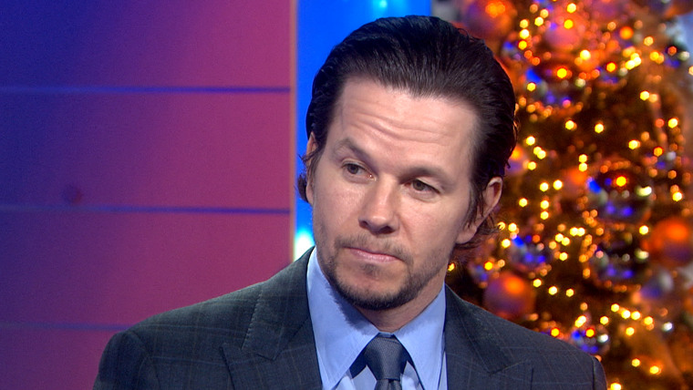 Wahlberg on TODAY