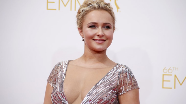 "Actress Hayden Panettiere from the ABC drama series ""Nashville"" arrives at the 66th Primetime Emmy Awards in Los Angeles, California August 25, 2014. ..."
