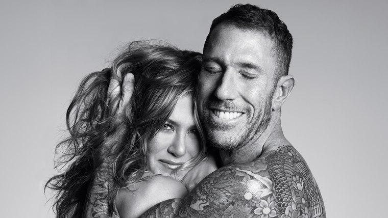 Image: Jennifer Aniston and Chris McMillan